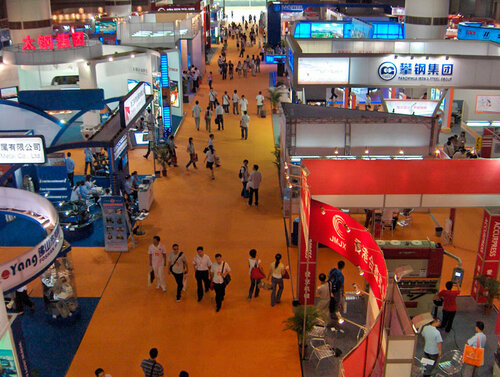 China International Die-Casting, Foundry & Industrial Furnace Exhibition im Jahr 2019.
